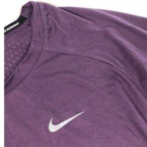 49640489b0f19 Nike Tops - NIKE Dri Fit Perforated Plus Size Tee Shirt Logo